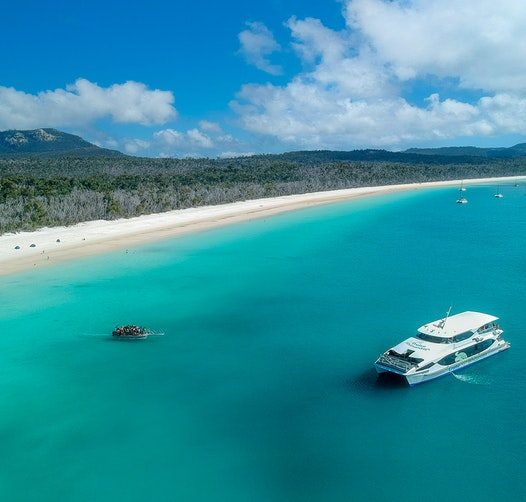 Cruise Whitsundays - Great Barrier Reef & The Whitsundays