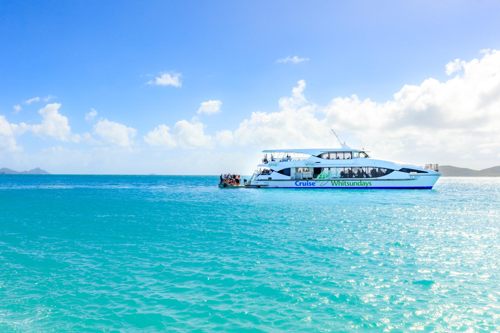 Whitsunday Islands & Whitehaven Beach Half Day Cruise